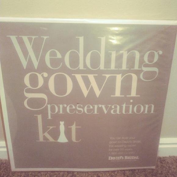 David\'s Bridal Dresses   Davids Bridal Wedding Gown Preservation Kit ...